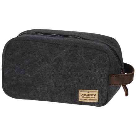 A. Kurtz Dopp Kit (For Men) in Black - Closeouts