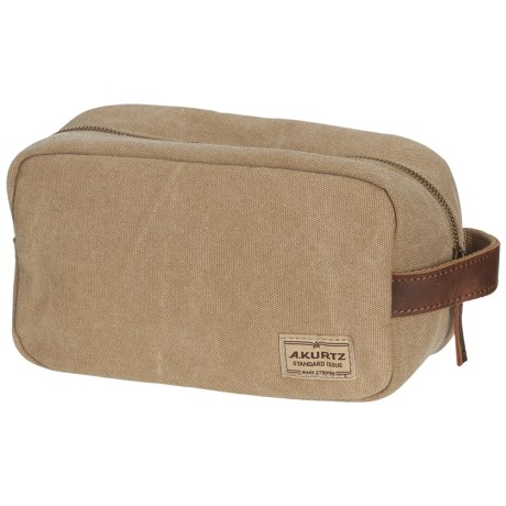 A. Kurtz Dopp Kit (For Men) in Tan