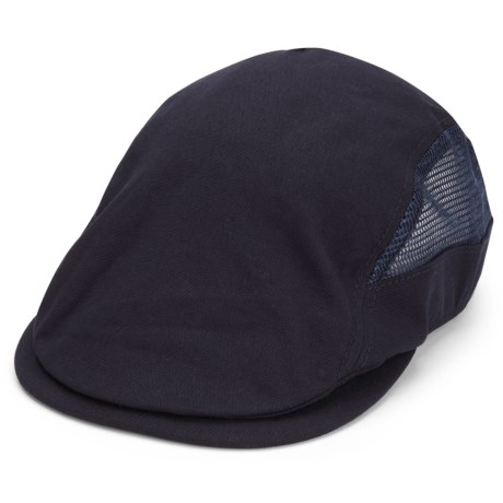 A. Kurtz Mesh Sides Ivy Driver Hat (For Men) in Navy