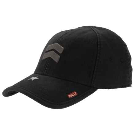 A. Kurtz Ritzflex Baseball Cap (For Men) in Black - Closeouts