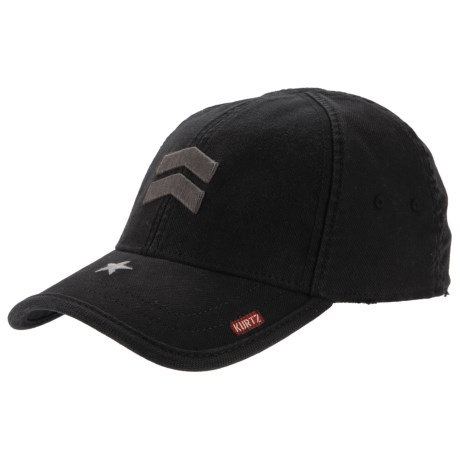 A. Kurtz Ritzflex Baseball Cap (For Men) in Black