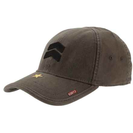A. Kurtz Ritzflex Baseball Cap (For Men) in Military Green - Closeouts