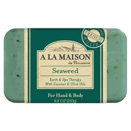 A La Maison Seaweed Bar Soap - 8.8 oz. in Seaweed - Closeouts