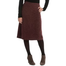 A-Line Knit Skirt (For Women) in Purple - 2nds