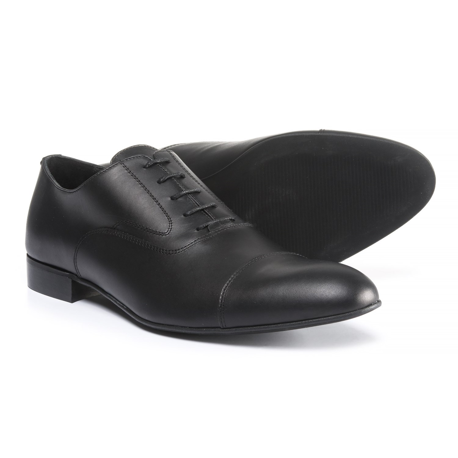 A. Testoni Diffusion Cap-Toe Oxford Shoes - Leather (For Men)