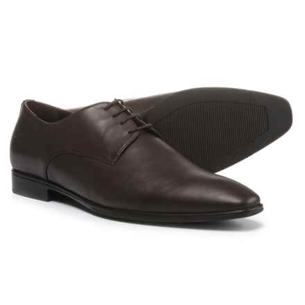 A. Testoni Made in Italy Diffusion Oxford Shoes - Leather (For Men) in Brown - Closeouts