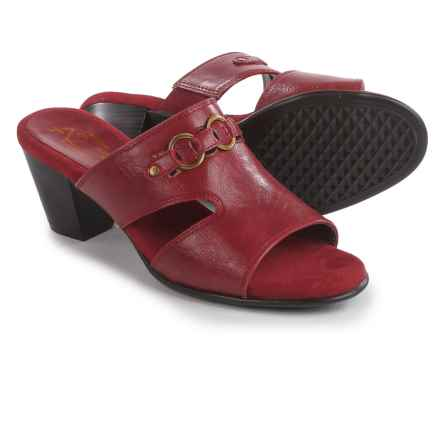 A2 by Aerosoles Base Board Slide Sandals (For Women) in Red - Closeouts