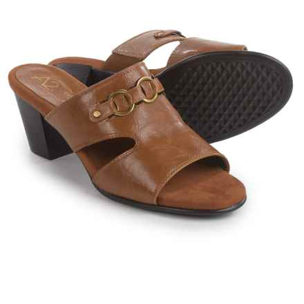 A2 by Aerosoles Base Board Slide Sandals (For Women) in Tan - Closeouts