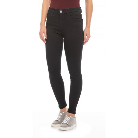 Image of Ab-Tech Black High-Rise Ankle Pants - 10? (For Women)