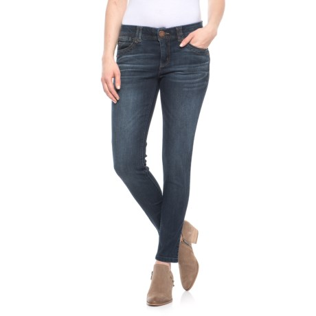 Image of Ab Technology Casual Skinny Ankle Skimmer Jeans (For Women)