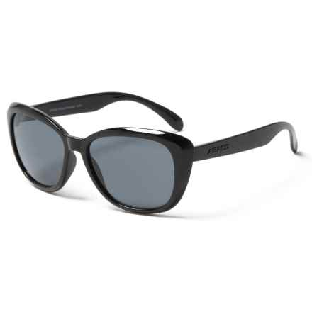 Abaco Sun Kateye Jr. Sunglasses (For Kids) in Black - Closeouts