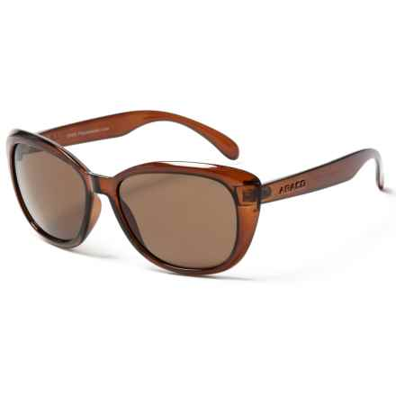 Abaco Sun Kateye Jr. Sunglasses (For Kids) in Brown - Closeouts