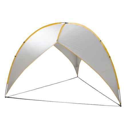 ABO Gear Abo Gear Tripod Shelter  in Silver/Yellow - Closeouts