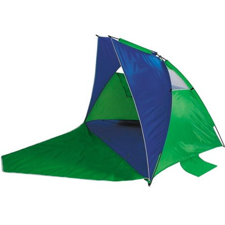 ABO Gear Aerodome 5-in-1 Beach Shelter in Blue/Green