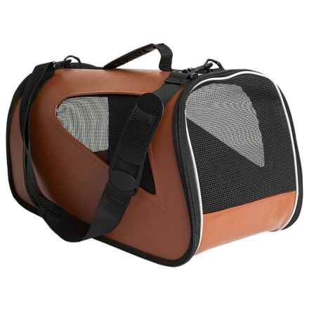 Abo Gear Aussie Transporter Pet Carrier in Chestnut - Closeouts