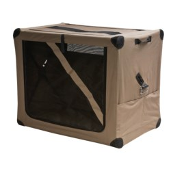 ABO Gear Dog Digs Pet Travel Crate - Large in Taupe