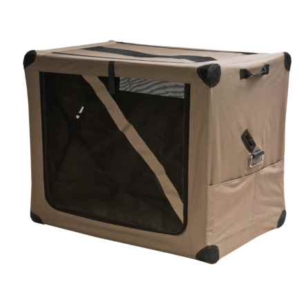 ABO Gear Dog Digs Pet Travel Crate - Medium in Taupe - Closeouts