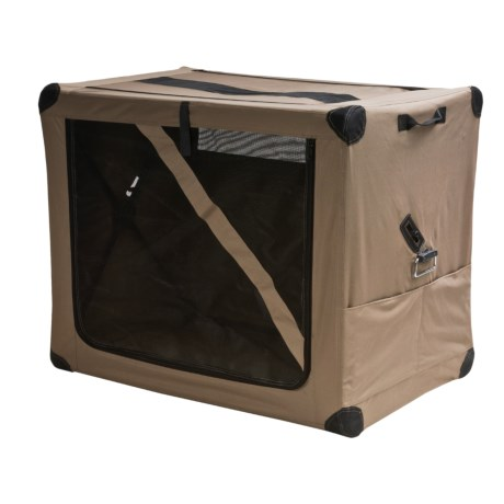 ABO Gear Dog Digs Pet Travel Crate - Medium in Taupe