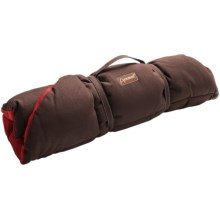 ABO Gear Eco Dog Bed - Cotton Canvas in Red/Chocolate - Closeouts