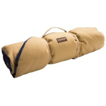 ABO Gear Eco Dog Bed - Cotton Canvas in Tan/Navy - Closeouts