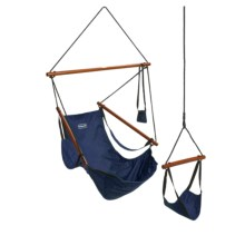 ABO Gear Floataway Chair Swing in Blue - Overstock