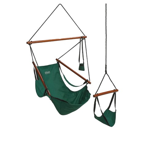ABO Gear Floataway Chair Swing in Hunter Green
