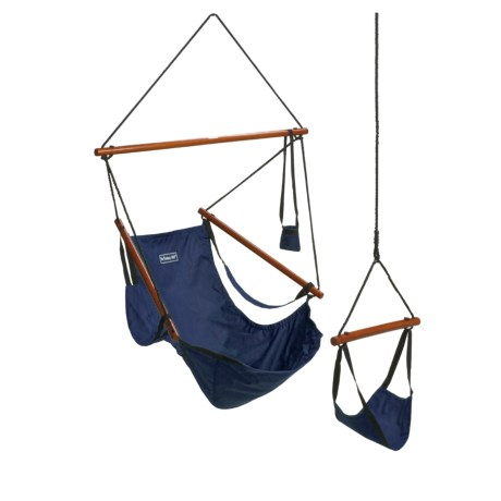 ABO Gear Floataway Chair Swing in Navy