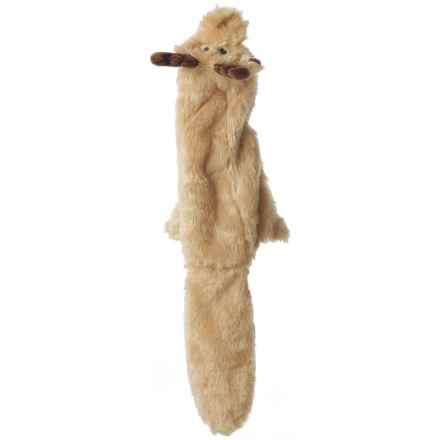 ABO Gear Outback Jack Floppie Moose Dog Toy - Stuffing Free in See Photo - Closeouts