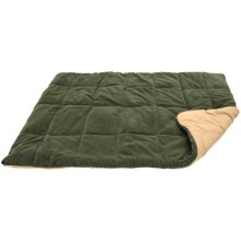 "ABO Gear Pacsac Quilted Dog Bed - Rectangular, 48x36"" in Olive/Tan - Closeouts"