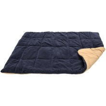 "ABO Gear Pet Pacsac Quilted Dog Bed - 48x36"" Rectangular in Navy/Tan - Closeouts"