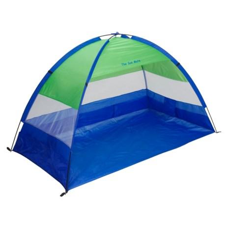 "ABO Gear Sunmate Shelter - 84x48"" in Blue/Green"