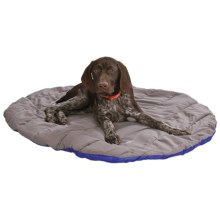 "ABO Gear Travel Pet Bed - 32x40"" in Blue/Grey - Closeouts"