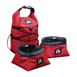 ABO Gear Traveler Food Kit - Dog Tucker  in Red