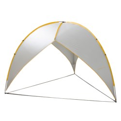 Abo Gear Tripod Shelter  in Silver/Yellow