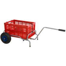 ABO Gear Walkabout Beach Cart in Orange - Closeouts