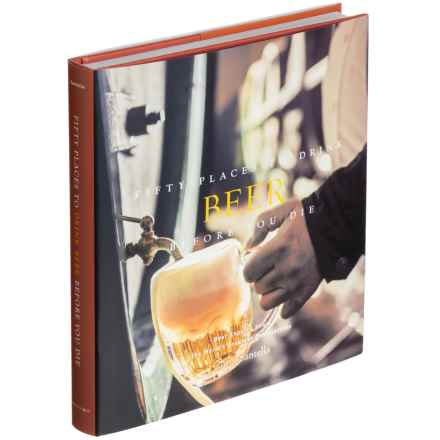 Abrams Fifty Places to Drink Beer Before You Die, Hardcover Book in Multi - Closeouts