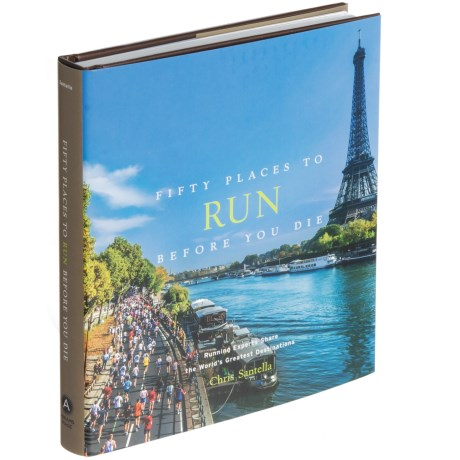 Abrams Fifty Places to Run Before You Die, Hardcover Book in Multi