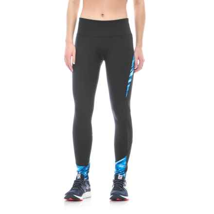 ABS Allen Schwartz ABS by Allen Schwartz Printed Leggings (For Women) in Black/Blue Print - Closeouts