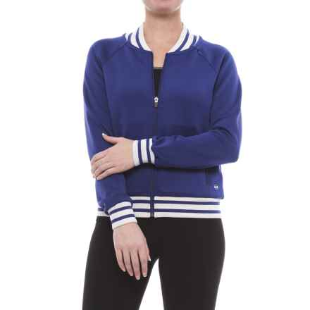 ABS Allen Schwartz ABS by Allen Schwartz Track Jacket (For Women) in Blue - Closeouts