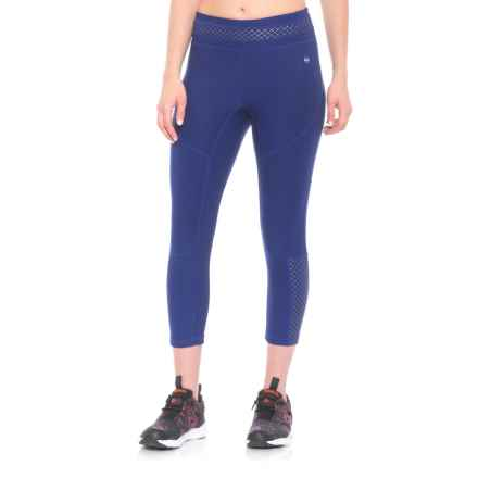 ABS Allen Schwartz Tummy Control Capris (For Women) in Blue - Closeouts
