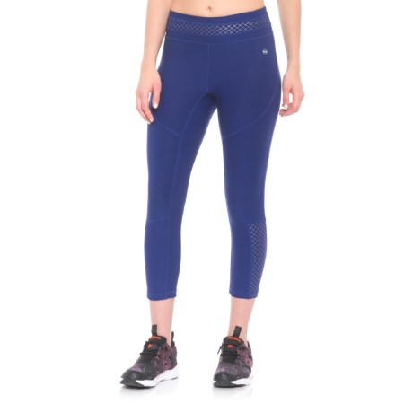 ABS Allen Schwartz Tummy Control Capris (For Women) in Blue