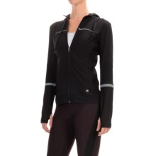 ABS by Allen Schwartz Motto Hooded Jacket - Full Zip (For Women) in Black - Closeouts