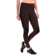 ABS by Allen Schwartz Motto Leggings (For Women) in Burgundy - Closeouts