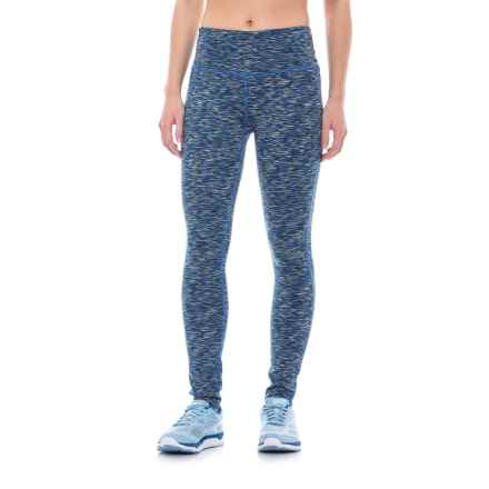 ABS by Allen Schwartz Reversible Space-Dyed Leggings (For Women) in Blue Spacedye Combo - Closeouts