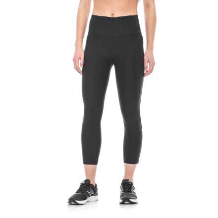ABS by Allen Schwartz Tummy Control Capris (For Women) in Black - Closeouts