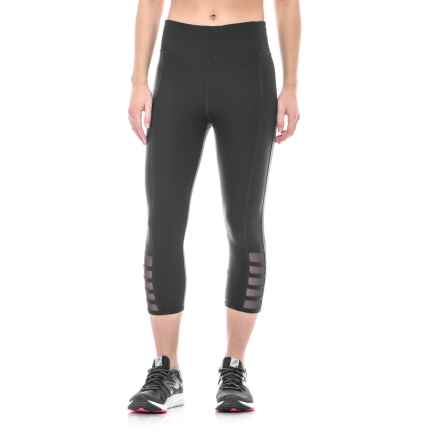 ABS by Allen Schwartz Tummy Control Cutout Capris (For Women) in Black - Closeouts
