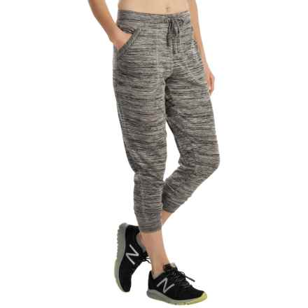 ABS Collection ABS by Allen Schwartz Space-Dyed Joggers (For Women) in Charcoal - Closeouts