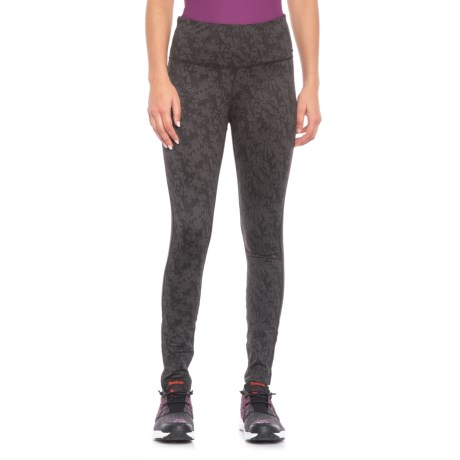 Image of Abstract Jacquard Leggings (For Women)