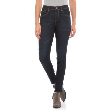 Image of AbTechnology Ankle Jeans - High-Rise Waist (For Women)
