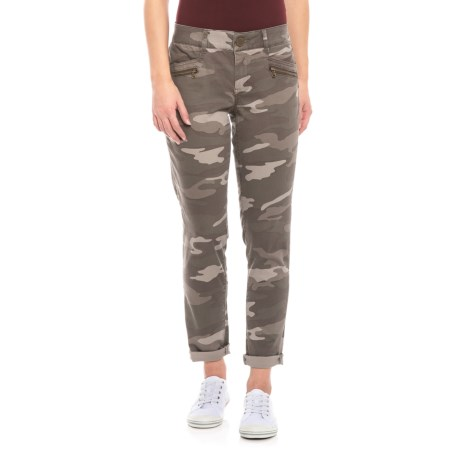 Image of AbTechnology Camo Ankle Skimmer Pants (For Women)